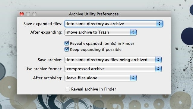 Delete Zip Files in OS X as Soon as You Unzip Them