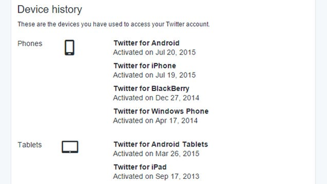 Go Check How Many Devices Are Actually Connected to Your Twitter Account
