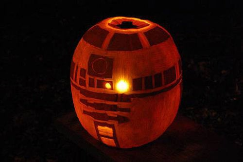 Ideas for Tech-Themed Halloween Pumpkins