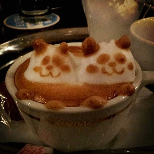 Geeky Caffè Latte Art Goes 3D, Continues To Blow Minds