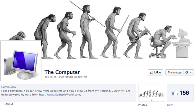 This Facebook Timeline Teaches You the History of the Computer