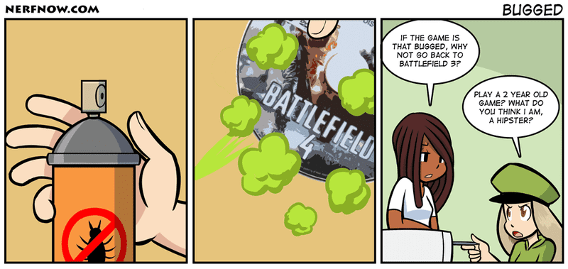 Sunday Comics: Combat Training