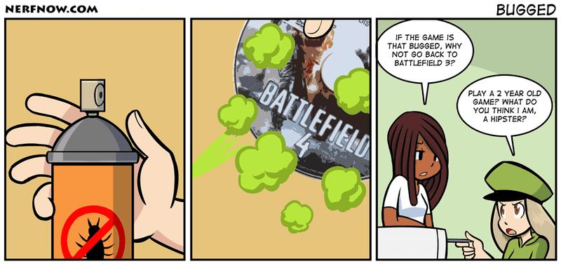 Sunday Comics: Combat Training