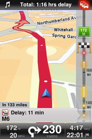 TomTom iPhone App Version 1.3 Adds HD Traffic Updates and Day/Night Mode