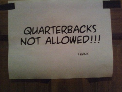 "Quarterbacks No Longer Welcome In Ladies' Room At ""Millyvegas"" Bar"
