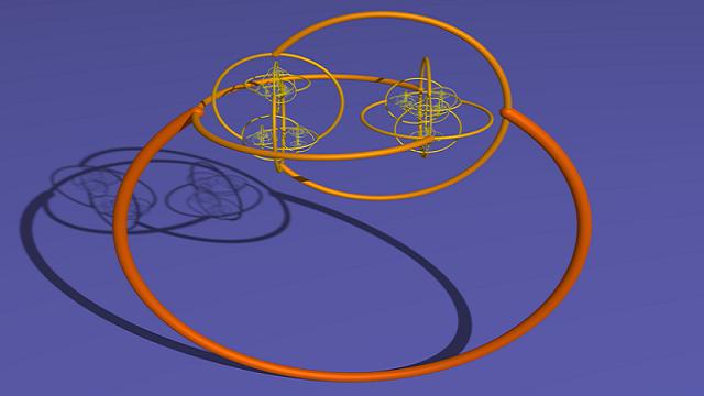 Alexander's Horned Sphere fractal changes how we define inside and outside