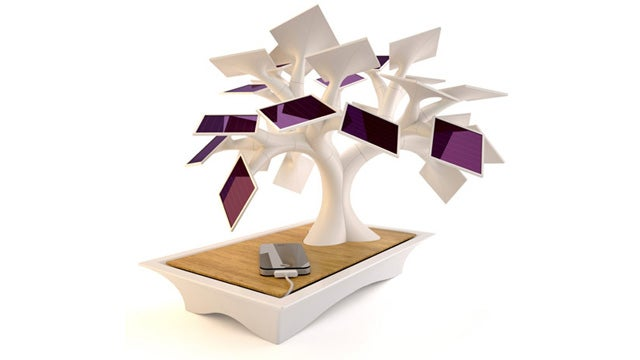 Finally! A Solar Tree That Can Charge Your iPhone