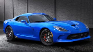 SRT Needed A Competition To Choose A Boring Name For This Viper Blue
