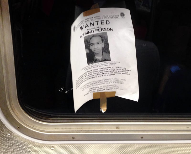 Missing Autistic Boy Maybe Spotted on Subway, Then Disappears (Updated)