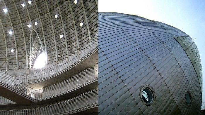 An Incredible Gallery of Buildings that Look Like Rocket Ships