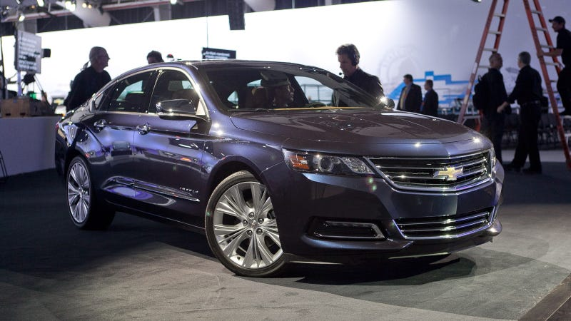 2014 Chevy Impala Ditches Image As Rental Car Reject