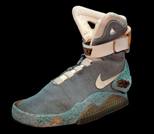 The Original Back to the Future II Nike Air Mags Are Going Up For Auction