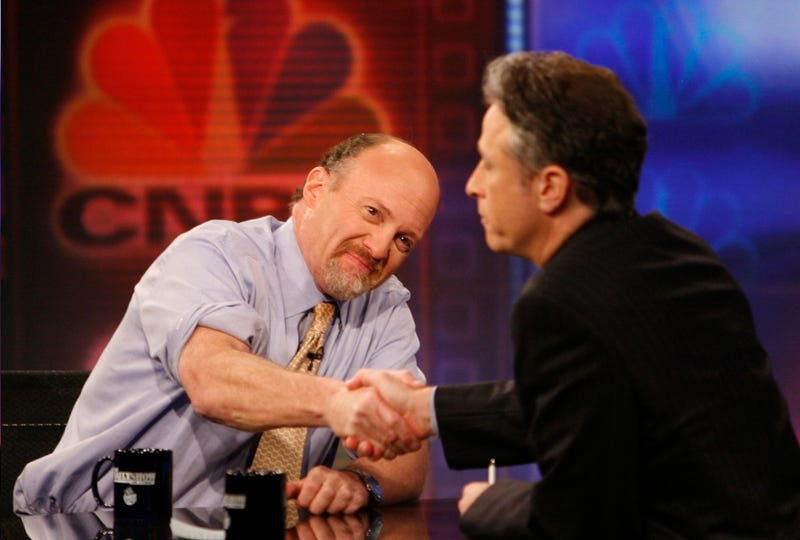 Jim Cramer Still Steamed About Jon Stewart Being Mean to Him