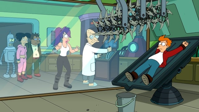 On Futurama, the cure for the common cold is a father's love (or lack thereof)
