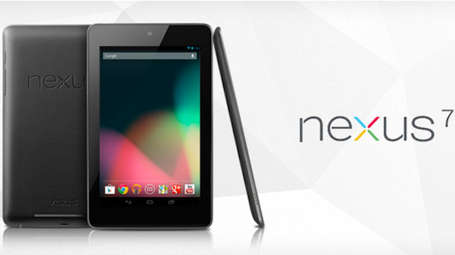 Here's What the Google Nexus 7 Tablet Looks Like