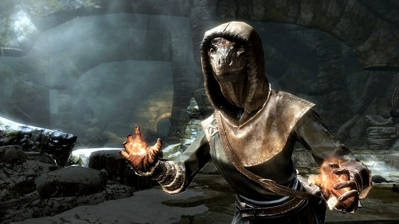 These are 16 Versions of Who You Might Be in Skyrim