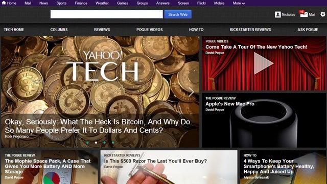 David Pogue Won't Stop Yelling at This Yahoo Keynote