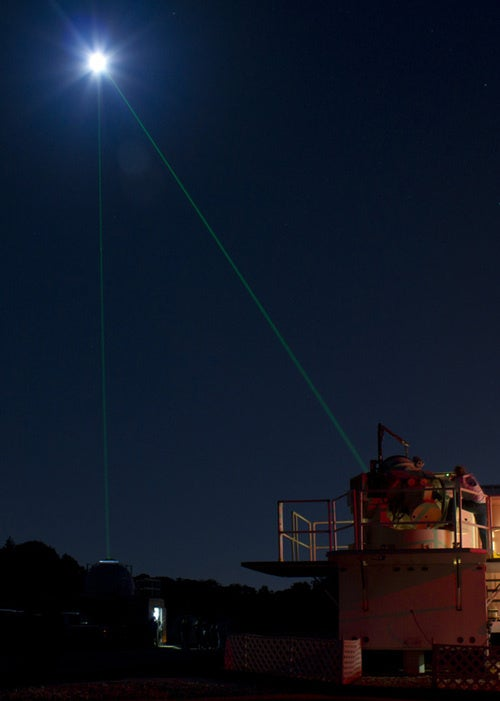The Night When NASA Let People Watch as They Fired Lasers at the Moon