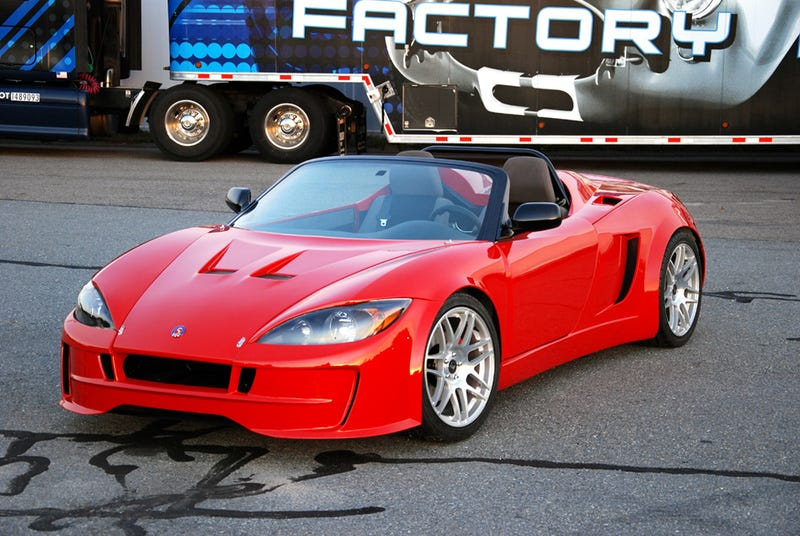 The future of performance cars is superlights, not supercars