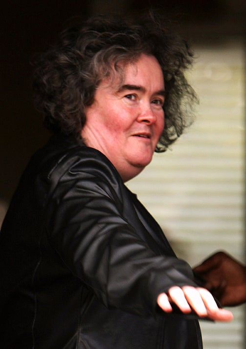 Susan Boyle Hospitalized; Bruno Makes An Ass Of Eminem