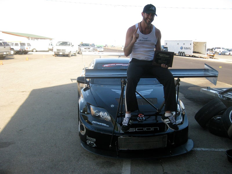Front Wing-Equipped Scion tC Looks Dumb, Sets Record
