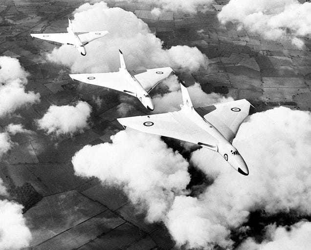 The Last of the Vulcans Retires After 55 Years of Service