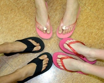 Flip-Flops Cause More Foot Problems Than High Heels