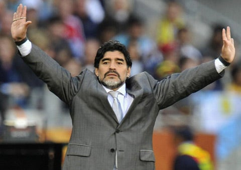 A Short Video Tribute To Diego Maradona, The Manager