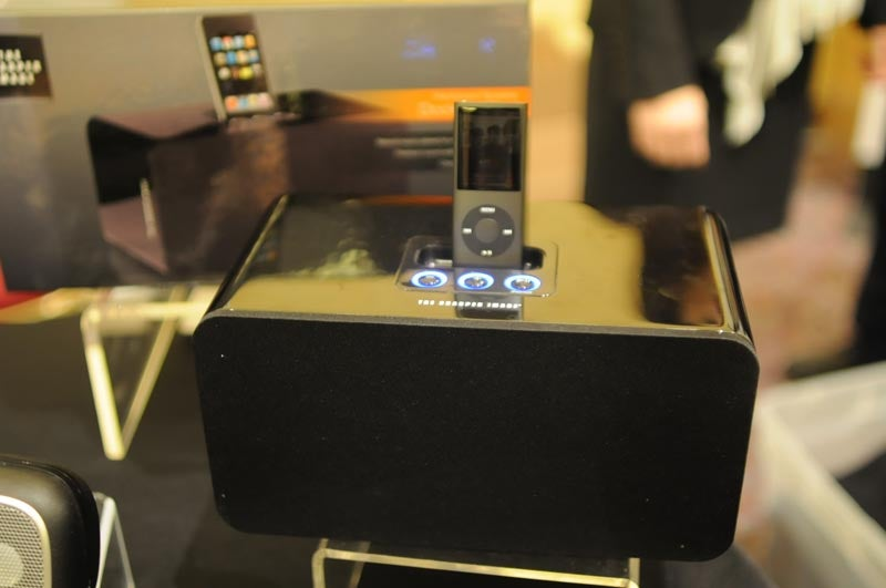 First Look at The Sharper Image's New Direction: Cheap iPod Docks