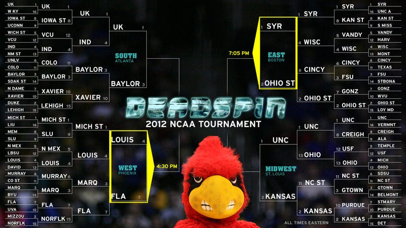 Your NCAA Tournament Elite Eight, Day One Open Thread
