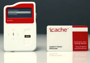iCache: All Your Credit Cards, One Device, Fingerprint Security