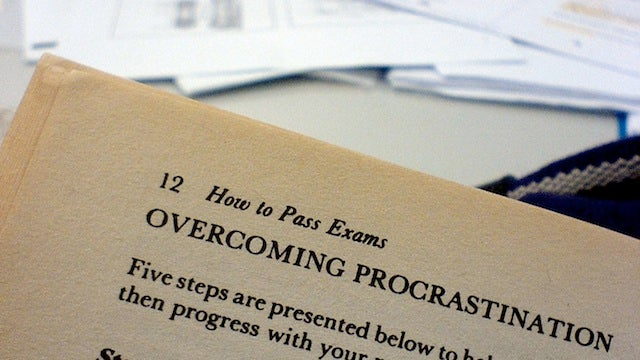 """Approach Deadlines as """"Launch Windows"""" in Order to Stay Focused and Stop Procrastinating"""
