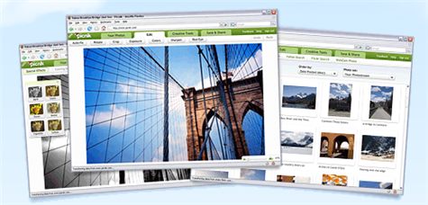Edit your images online with Picnik