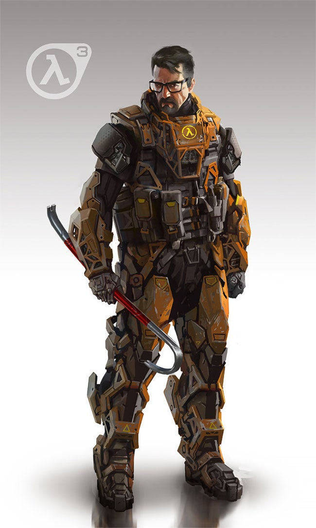 A Badass Redesign of Gordon Freeman's Suit