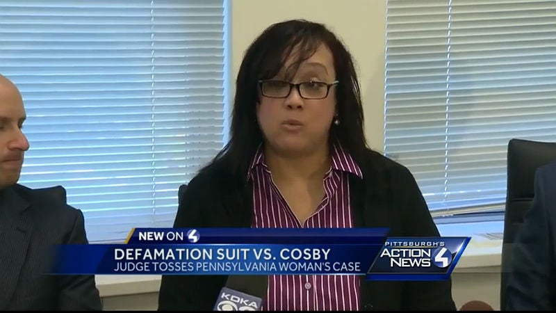 Judge throws out defamation suit against Cosby