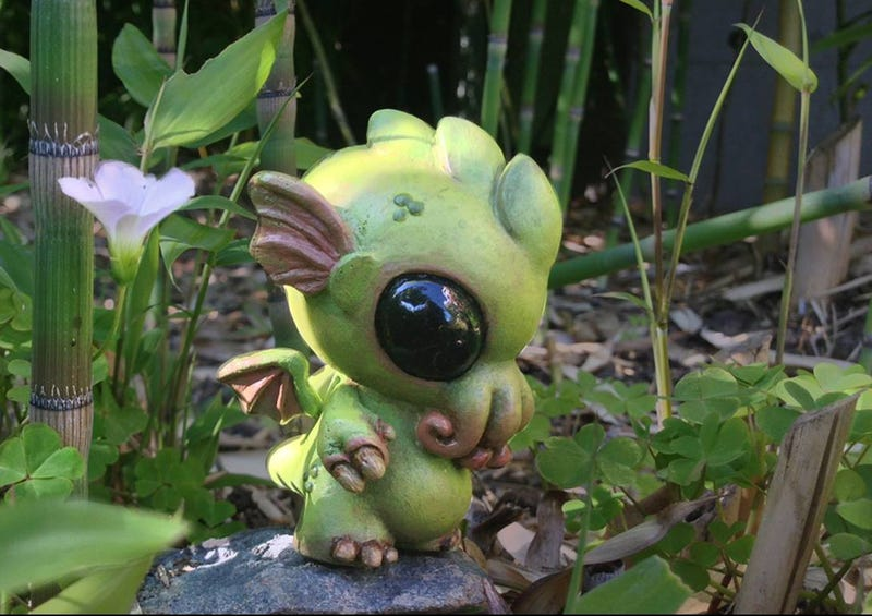 Crowdfund Baby Cthulhu sculptures and a videogame that teaches Japanese