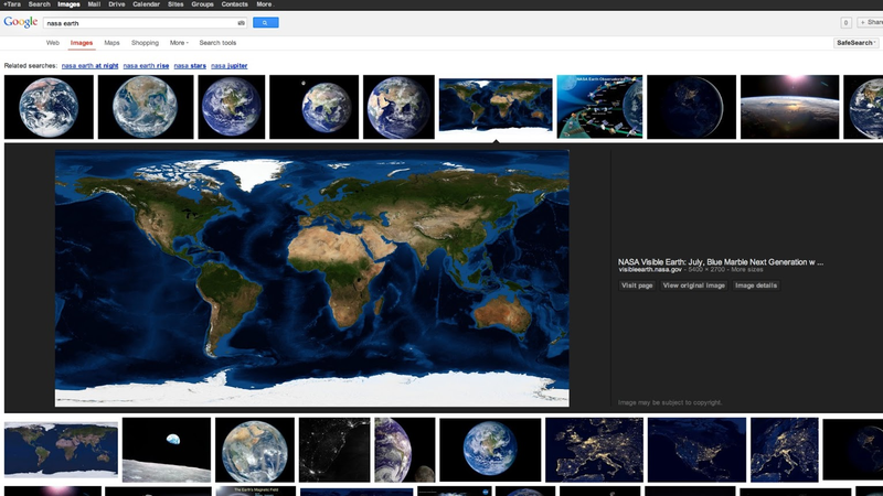 Google Images Just Got a Whole Lot More Slick