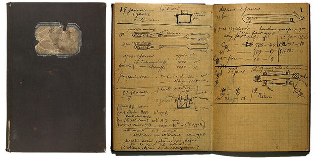 Marie Curie's century-old radioactive notebook still requires lead box