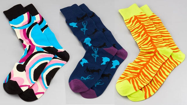 Rob Kardashian's High-End Sock Line Is Finally Here (and It's Hideous)