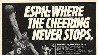 ESPN: Where the Cheering Never Stops