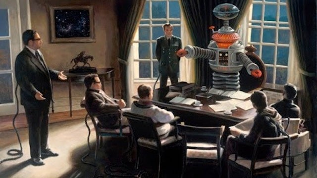 Concept Art Writing Prompt: Robots in the Oval Office