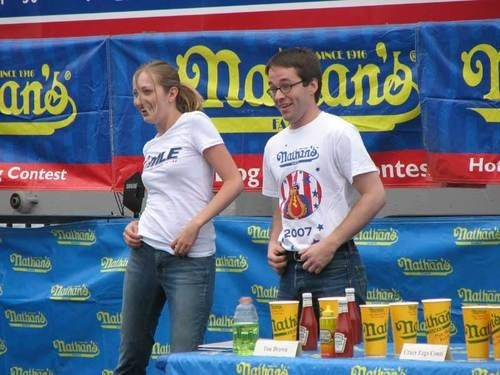 Deadspin Classic: Our Visit To The Hot Dog Eating Championships