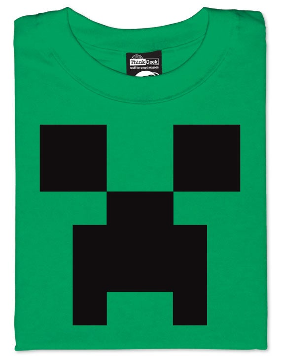 Indie Mega Hit Minecraft Gets Inevitable Merchandise