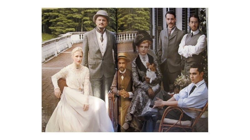 Vogue Dressed Up Jeffrey Eugenides and Junot Diaz for an Edith Wharton Spread