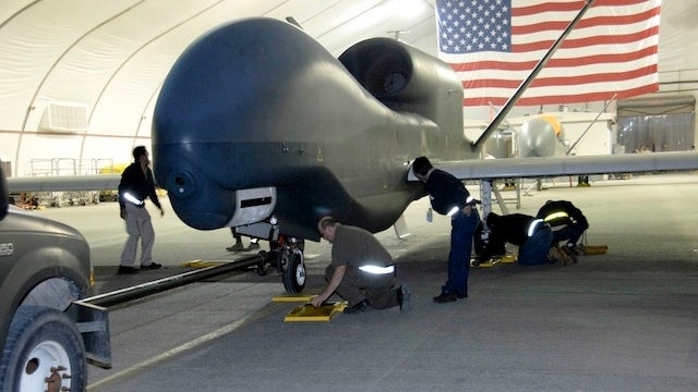 Navy Loses Global Hawk Drone in Maryland Crash