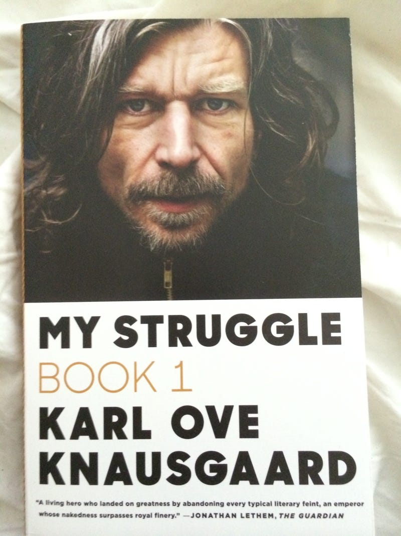 Stop looking at me, Knausgaard