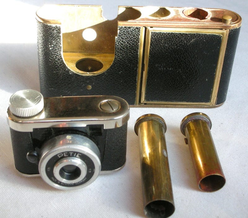 These Miniature Spy Cameras Could Make You The Perfect James Bond
