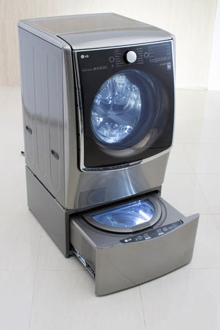 LG's New Twin Wash System Has a Cute Little Mini Washer ...
