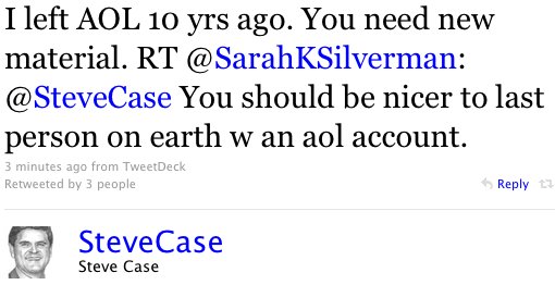Zing! Sarah Silverman Shows Why You Should Never Twitter Fight a Comedian