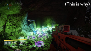 ​Why High-Level <em>Destiny</em> Players Are All Shooting At The Same Cave